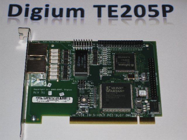 Digium TE205P Card